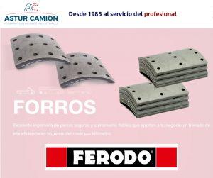 FORROS DE FRENO FERODO